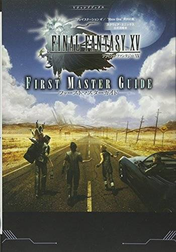 Details about Final Fantasy XV 15 Official Strategy Book FIRST MASTER GUIDE  PS4 Xbox One Japan